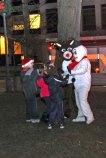 Naugatuck held its annual holiday kickoff on Dec. 3 on the Town Green. – LUKE MARSHALL