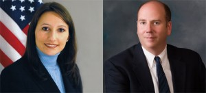 State representatives Rosa Rebimbas (R-70) and David Labriola (R-131).