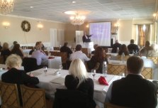 The Chittenden Group, an independent insurance company in Naugatuck, held a seminar Dec. 13 for its commercial clients on HealthCare Reform. Attorney Robert Noonan led the presentation covering various areas of The Patient Protection and Affordable Care Act. –CONTRIBUTED