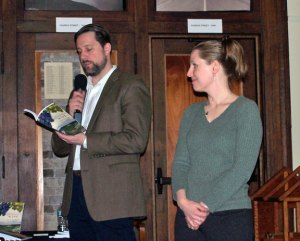 Eric Lehman and Amy Nawrocki, authors of 'History of Connecticut Foods' will be at the Savor CT 2013 Saturday at the Naugatuck Historical Society Museum. –CONTRIBUTED