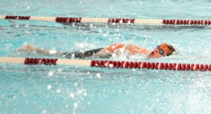 Lucas Pimentel and the Naugatuck High boys swim team are ready for a late-season surge in the Naugatuck Valley League. –FILE PHOTO