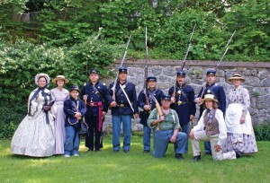 The Seymour Historical Society is hosting a Civil War encampment Saturday. -CONTRIBUTED