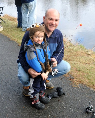 The 22nd Annual James Hennessey, Sr. Memorial Fishing Derby was held April 13 at Baummer's Pond in Naugatuck. –LUKE MARSHALL