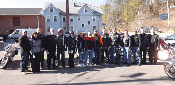 St. Michaels's Episcopal Church of Naugatuck offered a Blessing of the Bikes to local motorcyclists April 21. Fourteen riders and motorcycles received a prayer and a blessing as the riding season began. The church hopes to make this a continuing annual event and expand the format in years to come. –CONTRIBUTED