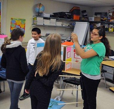 Cross Street Intermediate School in Naugatuck held its annual Invention Convention April 25. –LUKE MARSHALL