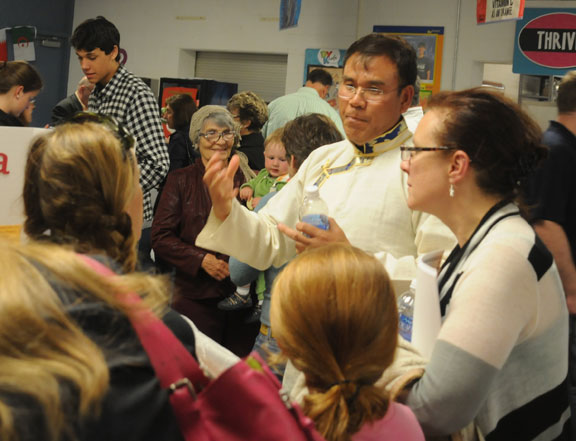 Naugatuck's third annual Cultural Heritage Night was held May 15 at City Hill Middle School. -LUKE MARSHALL