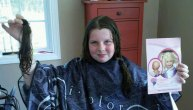 Nicole Martin, 10 of Prospect, recently donated 7.5 inches of her hair to Children with Hairloss. Her hair was cut at Jonathon Carol Salon in Prospect by owner Tricia Dyer. For more information on Children with Hairloss, visit www.childrenwithhairloss.us. -CONTRIBUTED