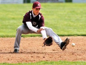 Jason Bradley is one of seven players on Post 17's roster who played varsity baseball for Naugatuck High School this past season. –RA ARCHIVE