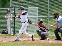 Post 17 won both games of a doubleheader versus Posts 194-25 June 16. –ELIO GUGLIOTTI