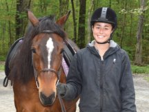 Hidden Acres Therapeutic Riding Center riding instructor Alex Santoro of Rocky Hill recently received her PATH (Professional Association of Therapeutic Horsemanship International) International certification for therapeutic riding instruction. PATH is a professional organization which establishes standards for quality equine-assisted activities and therapy. To become a PATH certified therapeutic riding instructor, candidates must have a solid foundation of horsemanship and then receive training and mentorship to develop the skills needed for providing safe and beneficial equine-assisted activities for individuals with physical, developmental and emotional challenges. For more information, visit www.PATHint.org or www.hiddenacrestrc.org. –CONTRIBUTED