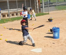 The Top Dog Baseball Academy taught children between the ages of 6 and 14 baseball skills at the Pent Road Recreation Complex in Beacon Falls. The academy ran for two weeks and was open to children ages 6 to 14. In addition to learning about baseball each camper received two free tickets to a New Britain Rock Cats game. –LUKE MARSHALL