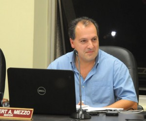 Naugatuck Second Deputy Mayor Mike Ciacciarella closes out the Board of Mayor and Burgesses meeting Tuesday night in Town Hall. Ciacciarella is not seeking re-election in order to spend more time with his family. –LUKE MARSHALL