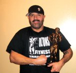 Dean Lebreiro of Naugatuck placed sixth in the over 40 masters men category and second in the heavyweight open mens category Oct. 19 at the INBF 2013 Natural Fulton Fitness Bodybuilding Autumn Explosion contest in New Haven. –CONTRIBUTED