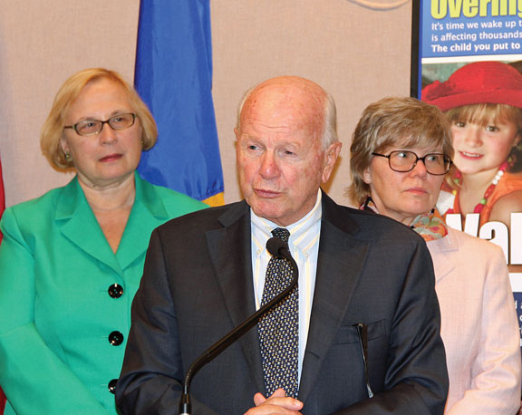 State Sen. Joseph J. Crisco, Jr. (D-17), co-chair of the legislature's Insurance Committee, helped launch the first meeting of the state's PANDAS Advisory Council Oct. 11. The task force was created by law earlier this year to synthesize information about research, diagnosis, and treatment and as an outreach and education program for health care providers for Pediatric Autoimmune Neuropsychiatric Disorder Associated with Streptococcus (PANDAS). 'An abundance of clinical evidence has combined with heart-wrenching personal accounts from so many family members of PANDAS patients, describing the effects of this devastating disorder, to warrant an accelerated policy response from the General Assembly,' Crisco said. 'Last year, we enacted law compelling a formal study of this autoimmune malfunction; this year we created the PANDAS Advisory Council, and early next year the Public Health Committee will receive its first annual report to enhance our state's effort to help the afflicted.' -CONTRIBUTED