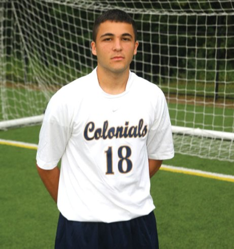 Former Woodland standout Vigan Pacuku played 15 games and scored three goals as a freshman at Western Connecticut State University. -WCSU