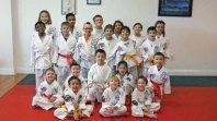 Sokol's Taekwondo in Naugatuck held a testing on Feb. 22. Craig Payton and Dhruv Nimmagadda earned the rank of first degree black belt. Dylan Trisko and Michael Jedrzejewski earned the rank of second degree black belt. -CONTRIBUTED