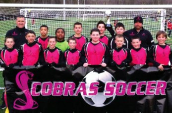 The U12 Prospect Cobras won their division at the NEFC preseason outdoor soccer tournament in Massachusetts on March 15-16. -CONTRIBUTED