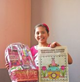 Brooke Reilly of Beacon Falls won the Citizen's News' Easter coloring contest in the 9- to 12-year-old age group. –ELIO GUGLIOTTI