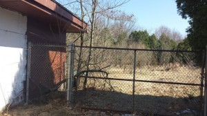 Plans for a community garden to be built on this piece of land behind Cross Street Intermediate School in Naugatuck have been changed following concerns raised by neighbors.  -FILE PHOTO
