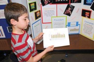 Algonquin Elementary School held its 19th annual Third Grade Science Fair March 28. –LUKE MARSHALL