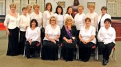 The Naugatuck Emblem Club #160 held its installation of officers on April 27. Annette Balog (bottom row center) was sworn in as club president. –CONTRIBUTED
