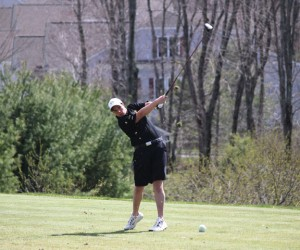 Woodland senior Andy O'Dell is the only member of the golf team graduating this season. The team had its best season in years finishing with an 11-9 record. –FILE PHOTO