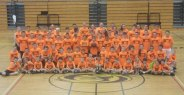 A full-day basketball clinic was the week of July 7 for children ages 8 to 14 at Woodland Regional High School in Beacon Falls. –CONTRIBUTED
