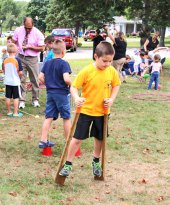 Prospect hosted its annual End of Summer Fun Week on the Town Green Aug. 18-22. The annual fun week featured different events and themes for each day. -LUKE MARSHALL