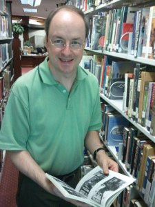 Prospect Library Director John Wiehn is working with Loyola University Professor of Art Janet Maher on the book, 'Waterbury Irish: From the Emerald Isle to the Brass City.' –PATRICK BURSEY