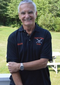 Joe Magnamo, of Naugatuck, first put on the Giants uniform for Peter J. Foley Little League 42 years ago. –KEN MORSE