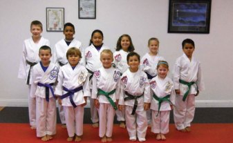 Sokol's Taekwondo in Naugatuck held testing for black belts Oct. 3, and colored belts tested for their next rank the following day. All together 51 students tested. –CONTRIBUTED