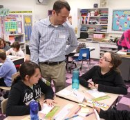 Laurel Ledge Elementary School hosted a Junior Achievement program Nov. 20 at the school in Beacon Falls. Junior Achievement is a non-profit organization based out of Colorado Spring, Colo., that aims to teach school-aged children financial literacy. –LUKE MARSHALL