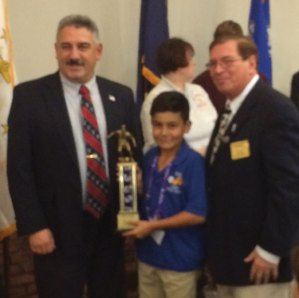 Naugatuck Youth Soccer player Aiden Coelho won the Region 1 Elks Shootout for the U12 division. –CONTRIBUTED