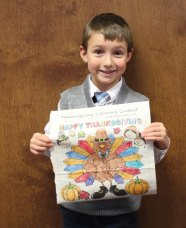 Jacob Fazzino won the Citizen's News Thanksgiving coloring contest in the 3- to 5-year-old age group.- ELIO GUGLIOTTI