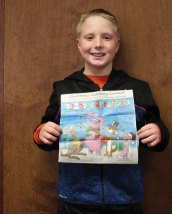 The Citizen's News recently held its Christmas coloring contest. Carmen Colavito won in the 9- to 12-year-old age group. –ELIO GUGLIOTTI