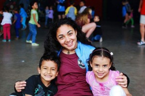 Woodland soccer star Alexa Casimiro traveled to Costa Rica last February to compete with the U.S. Region 1 junior team. During the trip, Casimiro and her teammates spent some time at a daycare center in San Jose, Costa Rica. –CONTRIBUTED