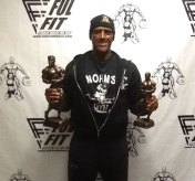 INBF athlete and team Fulton athlete Dean Lebreiro, of Naugatuck, won first place in the Grandmaster's men over 50 division and placed third in the over 40 Master's men division June 11 at the 2016 Fulton Fitness Mr. & Mrs. Natural CT Bodybuilding National Championships in New Haven. -CONTRIBUTED