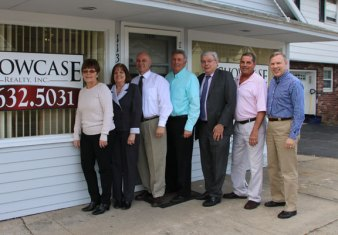 Showcase Realty, Inc. celebrated the grand opening of its new office at 113 North Main St. in Beacon Falls on April 3 with town officials. The Beacon Falls office Showcase's sixth office. –LUKE MARSHALL