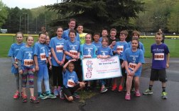 Students from the Laurel Ledge Elementary School running club participated in the 5K at the Jill's Run for MS in Beacon Falls on May 6 after training for eight weeks. –CONTRIBUTED
