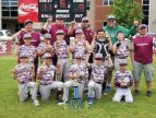 The Naugy Hounds Travel 10U Mays won the War at the Shore regional baseball tournament in the 10U division played June 3 and June 4 played in East Lyme. The team beat East Lyme BB in the championship game. Pictured, front row from left, Logan Stone, Jayson Heyward, Braydon Edgeworth, Jordan Stanco, Joseph Kovach; middle row from left, Damon Abate, Jose Guzman, Colin Sanderson, Billy Moran, Kevin Cestari, Jack Doxsey; back row from left, coaches Joe Kovach, Dennis Edgeworth, Kevin Cestari, Dave Moran and Mike Stanco. –CONTRIBUTED