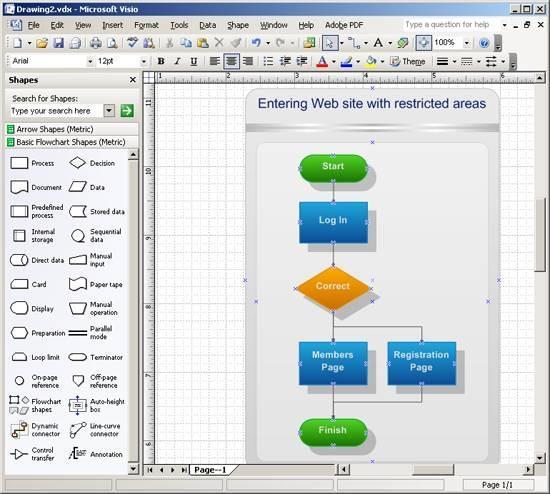 Come Disegnare Un Diagramma Di Flusso In Visio Mycladscom