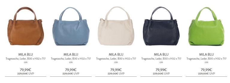 Mila Blu Deal auf brands4friends -70% sparen
