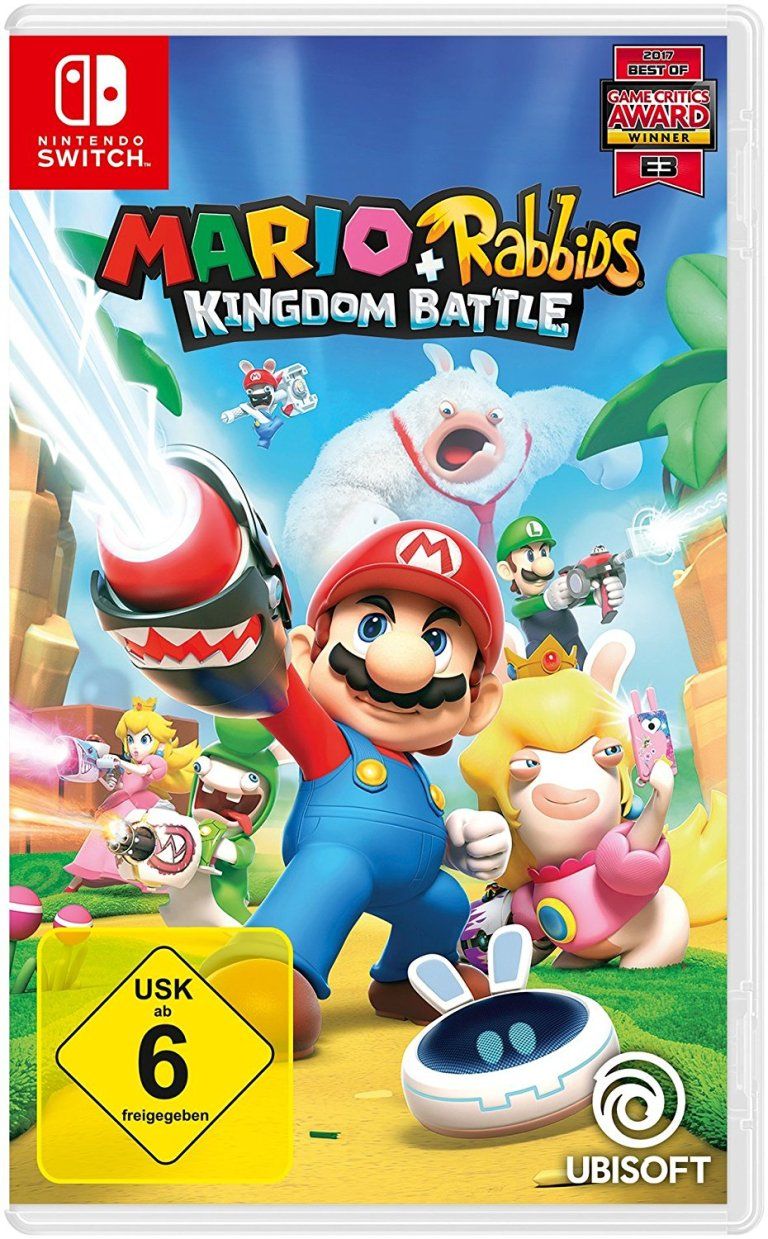 Mario + Rabbids Kingdom Battle bei Amazon