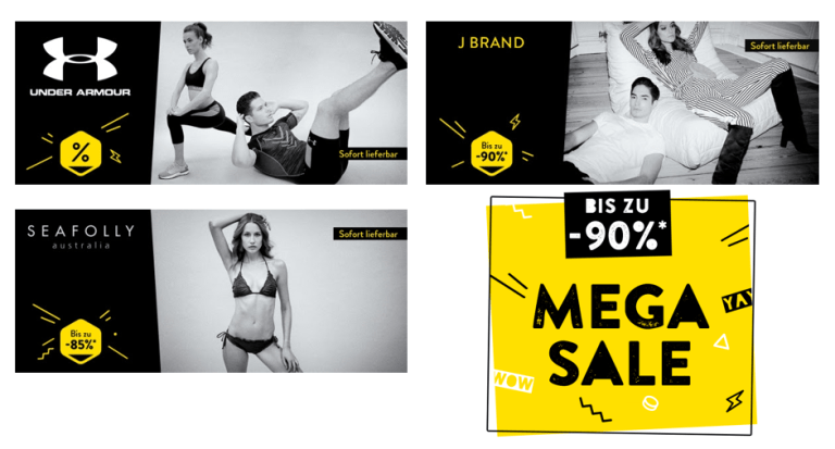 brands4friends Mega Sale