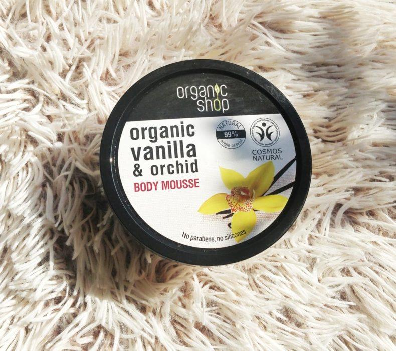 Organic Shop Vanilla & Orchid Body Mousse