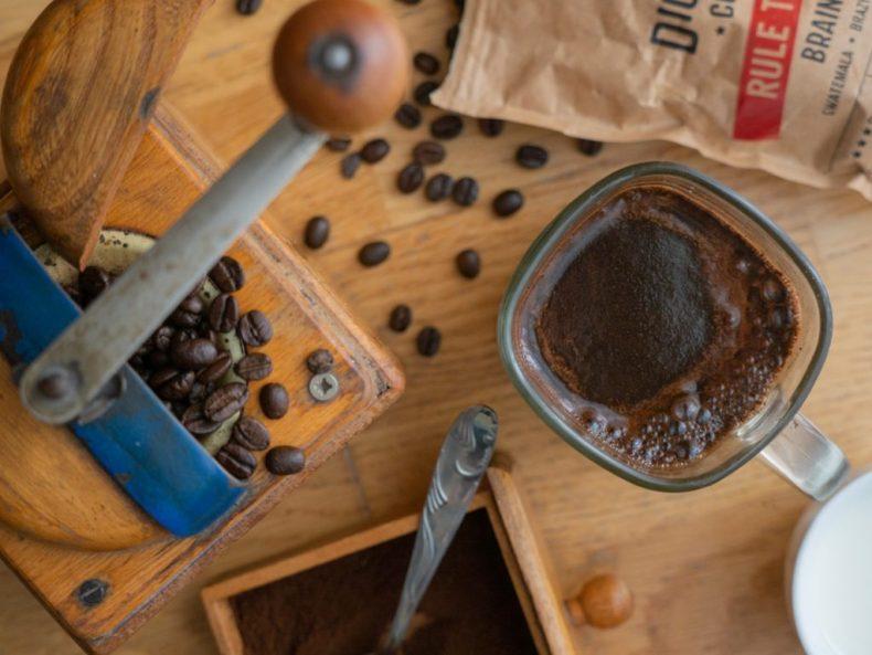 kawa mlynek ziarna