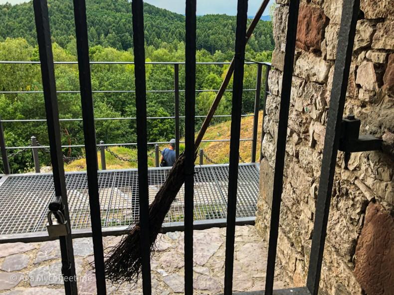 zamek w checinach