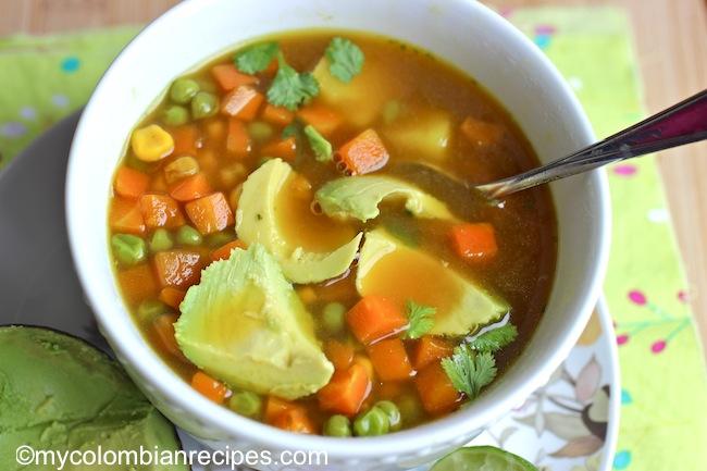 Image result for sopa vegetal