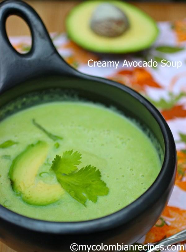 Crema de Aguacate (Colombian Creamy Avocado Soup) | My ...