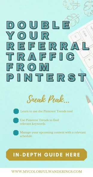 How to Grow Blog Traffic With the Pinterest Trends Tool